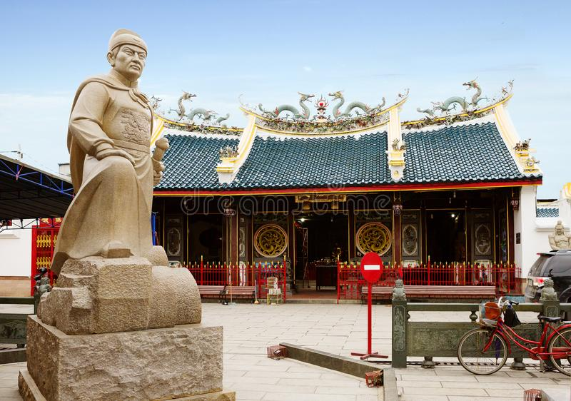 indonesien semarang Chinesischer Tempel Tay Kak Sie Temple stockbild