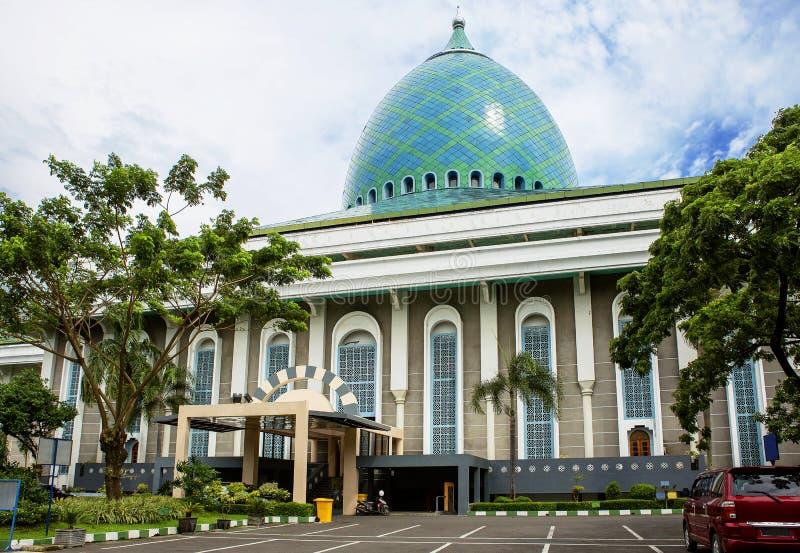 Indonesien surabaya Moské av Al Akbar arkivfoton