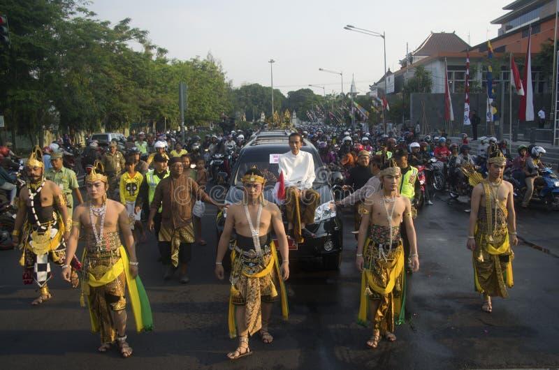 INDONESIENS FOLGENDER PRÄSIDENT JOKOWI lizenzfreie stockbilder