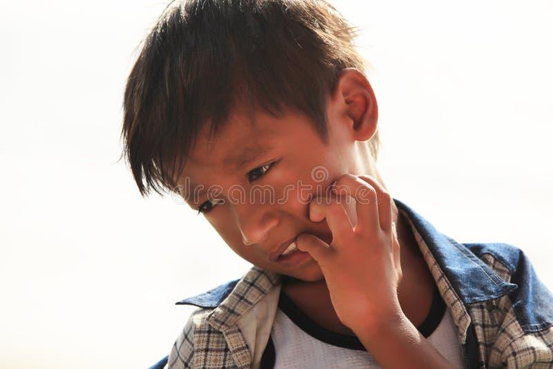 Indonesisch kind stock fotografie