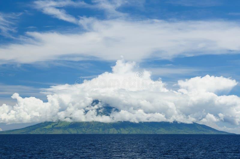 Indonesisch landschap royalty-vrije stock afbeeldingen