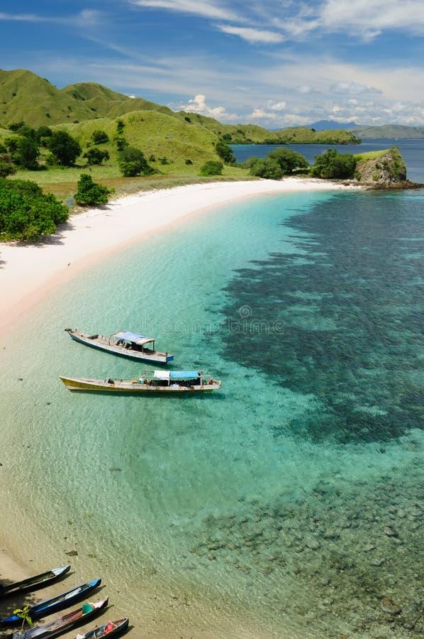 Indonesisch landschap royalty-vrije stock afbeelding