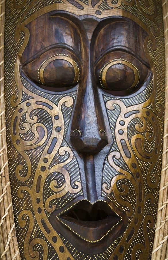 Indonesisch masker royalty-vrije stock afbeelding