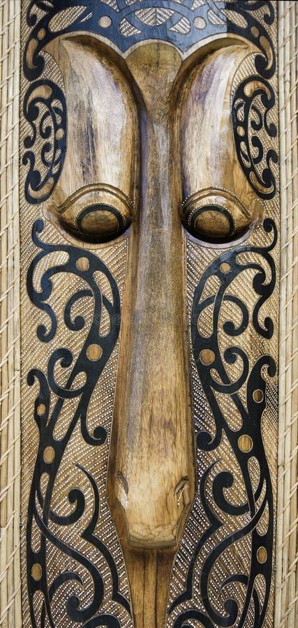 Indonesisch masker stock afbeelding