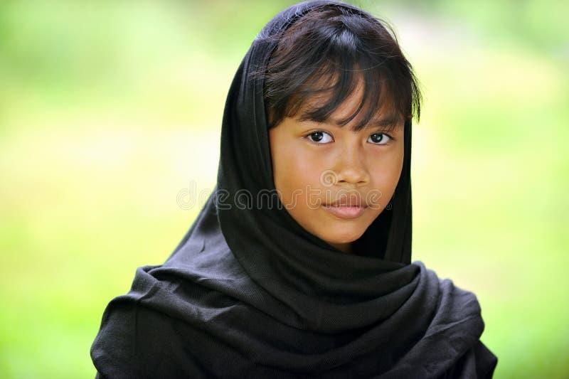 Indonesisch Meisje stock foto