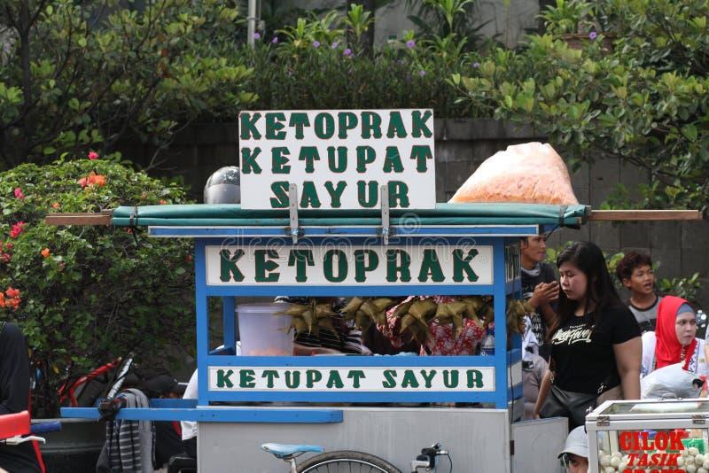 Indonesisch Traditioneel voedsel royalty-vrije stock afbeelding