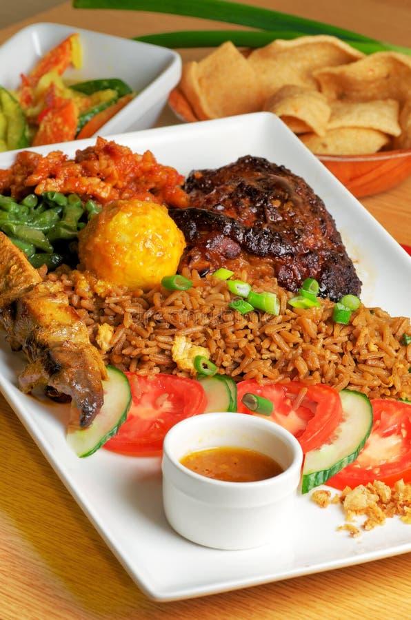 Indonesisch voedsel stock afbeeldingen