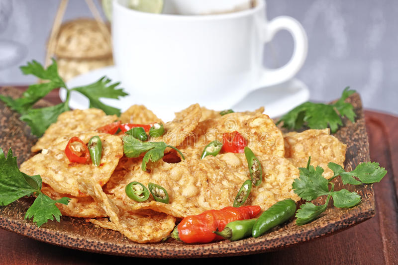 Indonesisch voedsel royalty-vrije stock foto's
