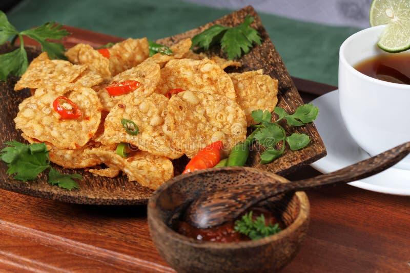 Indonesisch voedsel stock foto