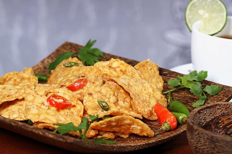 Indonesisch voedsel royalty-vrije stock afbeelding