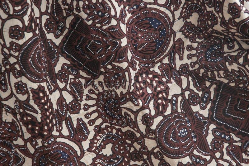 Indonesische Batiken stockfoto