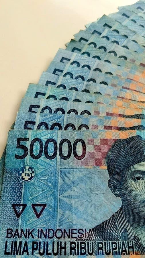 Indonesische Munt royalty-vrije stock afbeeldingen