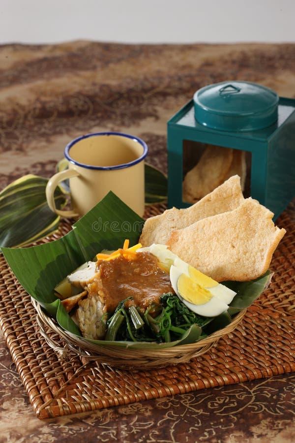 Indonesische Nahrung lizenzfreie stockfotografie