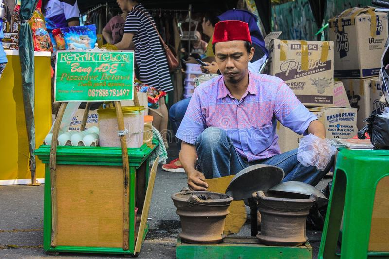 Indonesische Nahrung stockfotografie