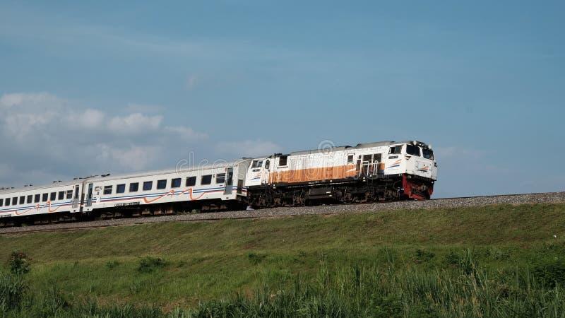 Indonesische Spoorweg royalty-vrije stock fotografie