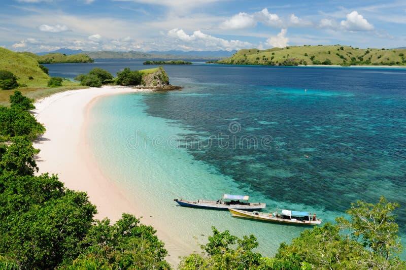 Indonesische stranden royalty-vrije stock foto