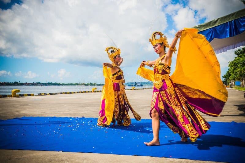 Indonesische Tänzer stockfotografie