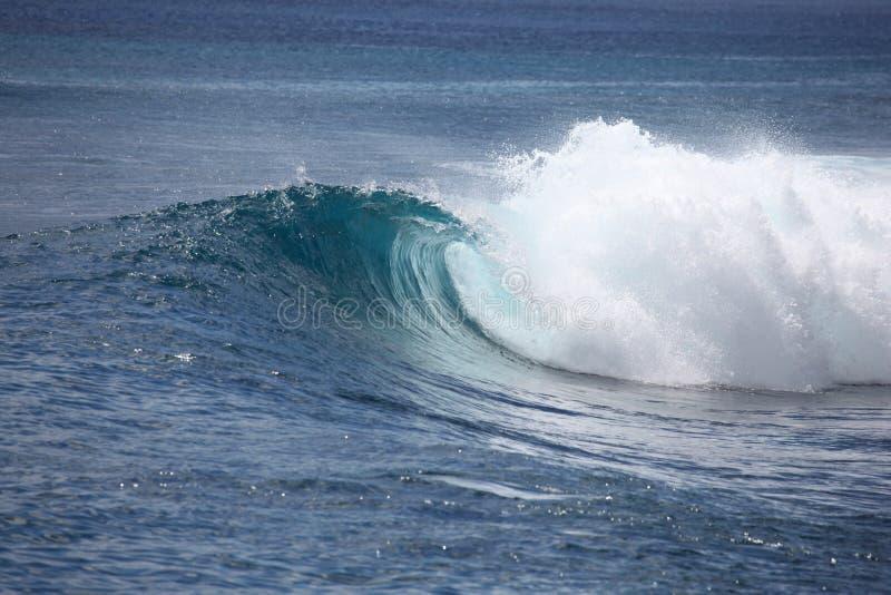 Indonesische Welle stockfoto