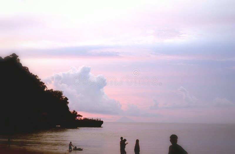 Indonesischer Strand stockbilder