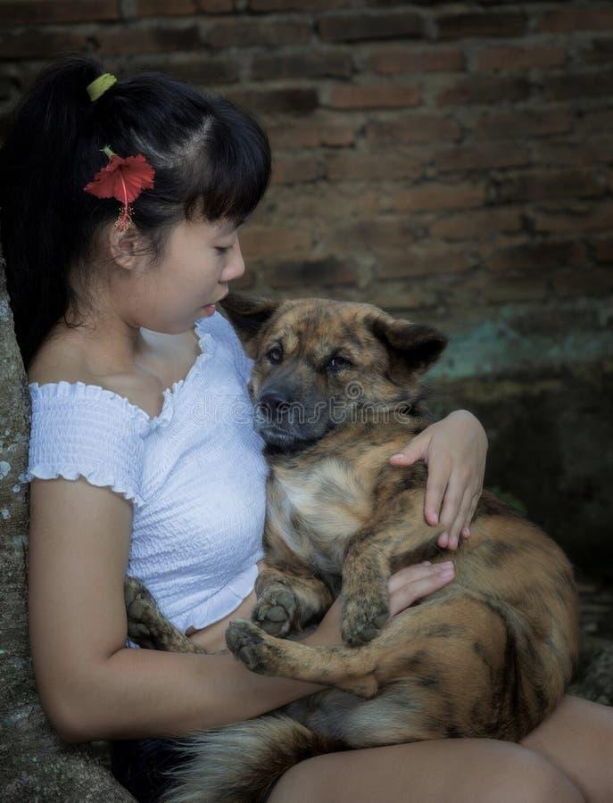 Indonesisches junges Mädchen lizenzfreie stockfotos
