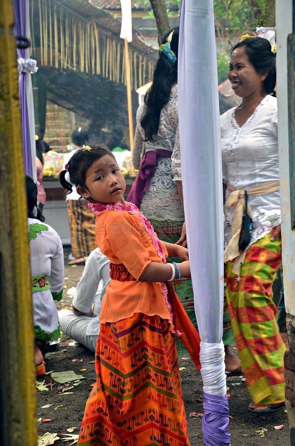 Indonesisches Mädchen stockbilder