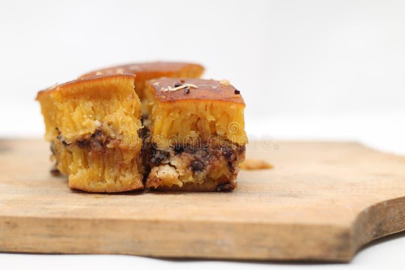 Indonesisk gatamat: söt tjock pannkaka, version 4 royaltyfri bild