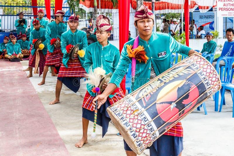 Indonesisk handelsresande arkivbilder