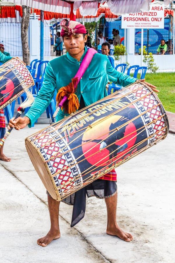 Indonesisk handelsresande royaltyfri foto