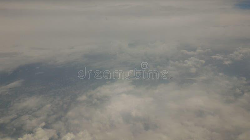 Indonesisk himmel royaltyfria foton
