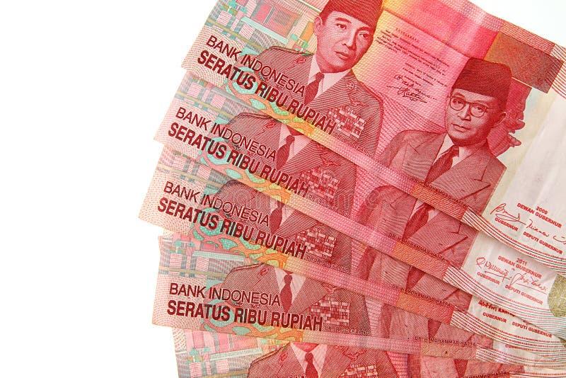 Indonesisk Rupiah royaltyfri foto