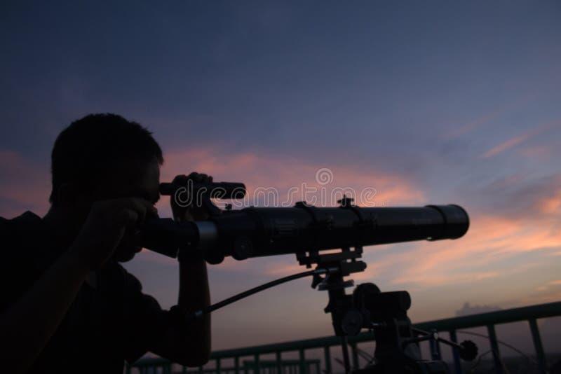 INDONEZJA astronomii STUDENCKI klub zdjęcie royalty free