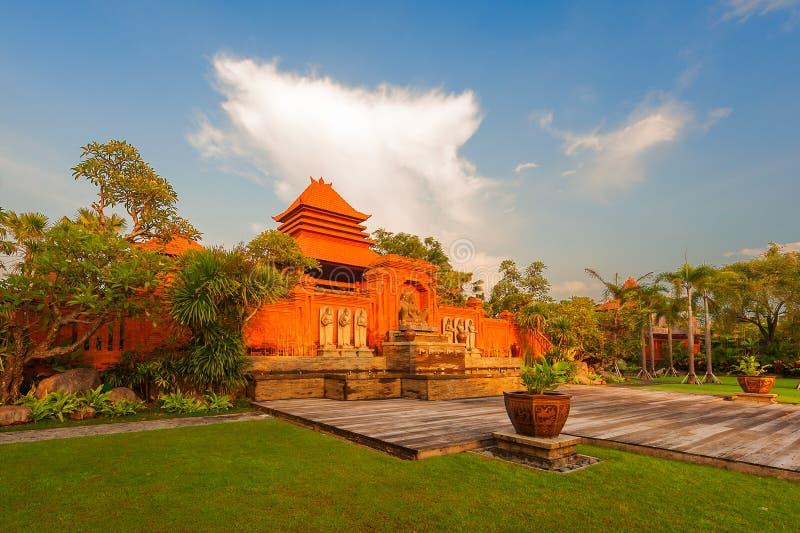 Świątynia świt obraz royalty free