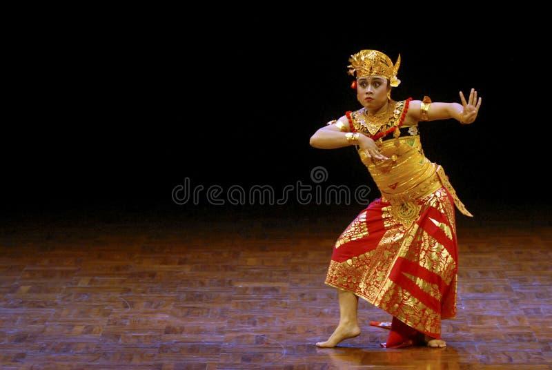 INDONEZJA BALI taniec obraz stock