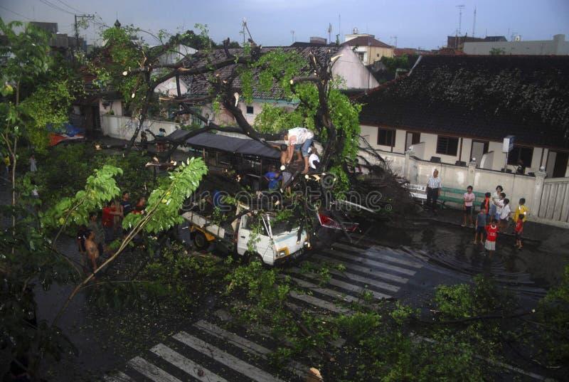 INDONEZJA klimatu przegląd zdjęcie stock