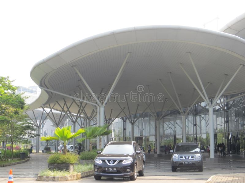 Indonezja konwenci wystawa w Tangerang obraz stock
