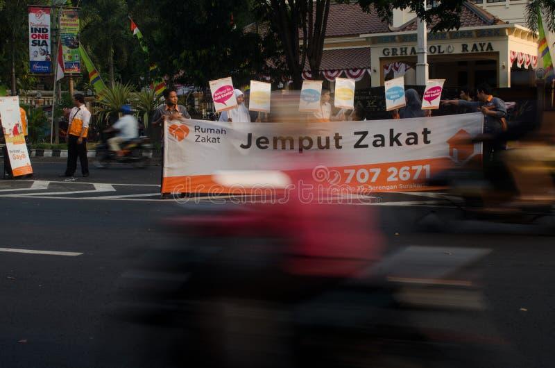 INDONEZJA opieki zdrowotnej OGÓLNOSPOŁECZNY program zdjęcia royalty free