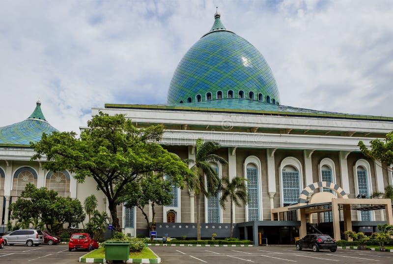 Indonezja surabaya Meczet Al Akbar zdjęcia stock