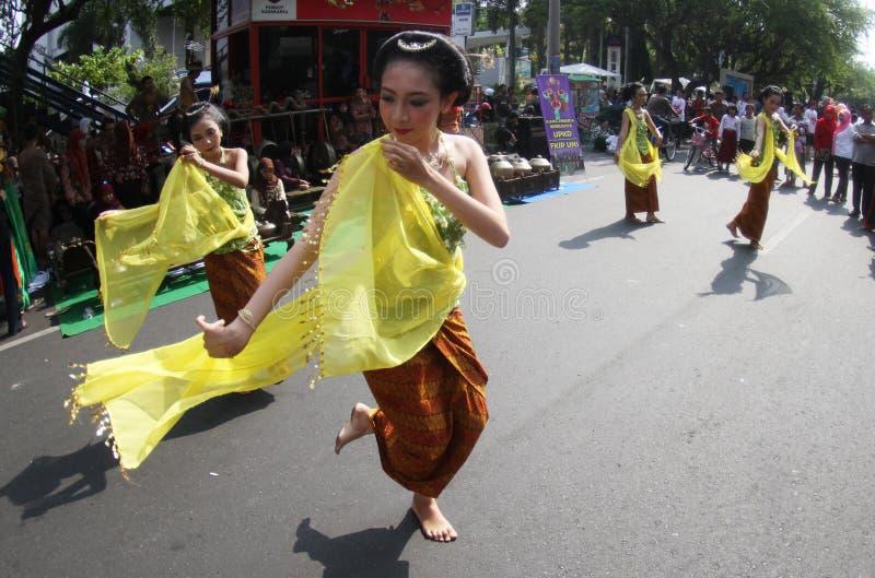 Indonezja Tradycyjny taniec zdjęcie royalty free