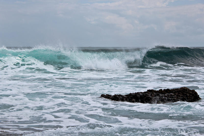 Indonezja wybrzeże Bali obrazy royalty free