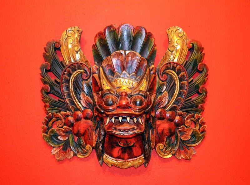 Indonezyjczyk maski zdjęcia royalty free