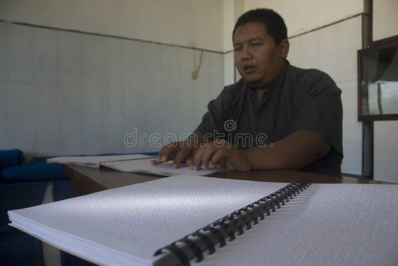 INDONEZYJSCY niepełnosprawni obraz royalty free