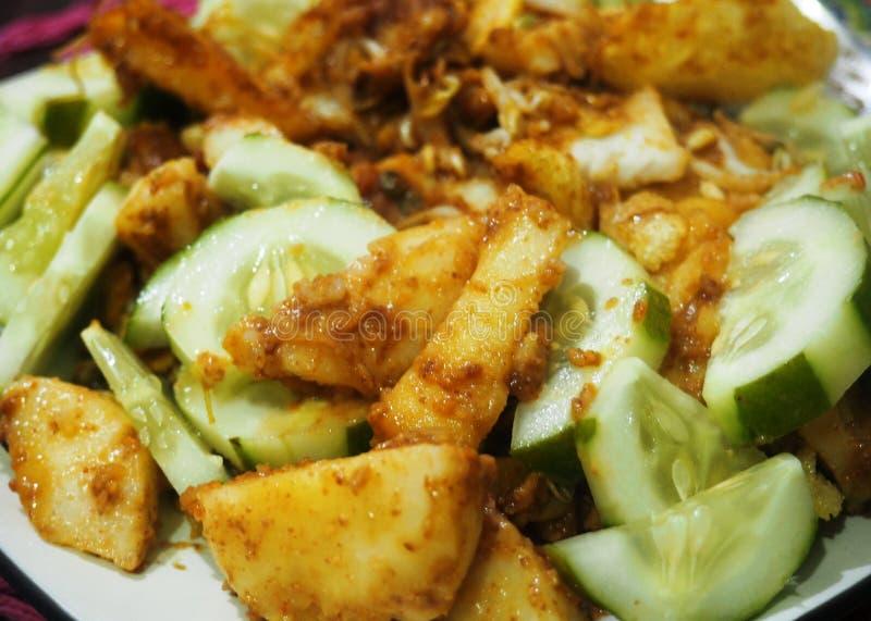 Indonezyjscy tradycyjni foods obraz royalty free