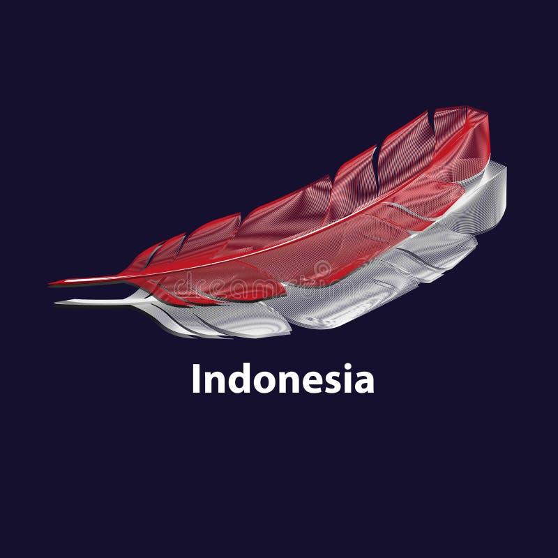 Indonezyjski Dzień Niepodległości ilustracji