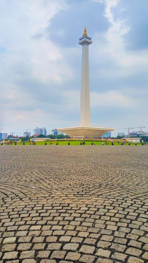 Indonezyjski Krajowy zabytek zdjęcia stock
