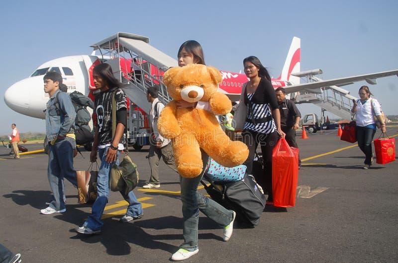 INDONEZYJSKI linia lotnicza zakaz PODNOSZĄCY obraz royalty free