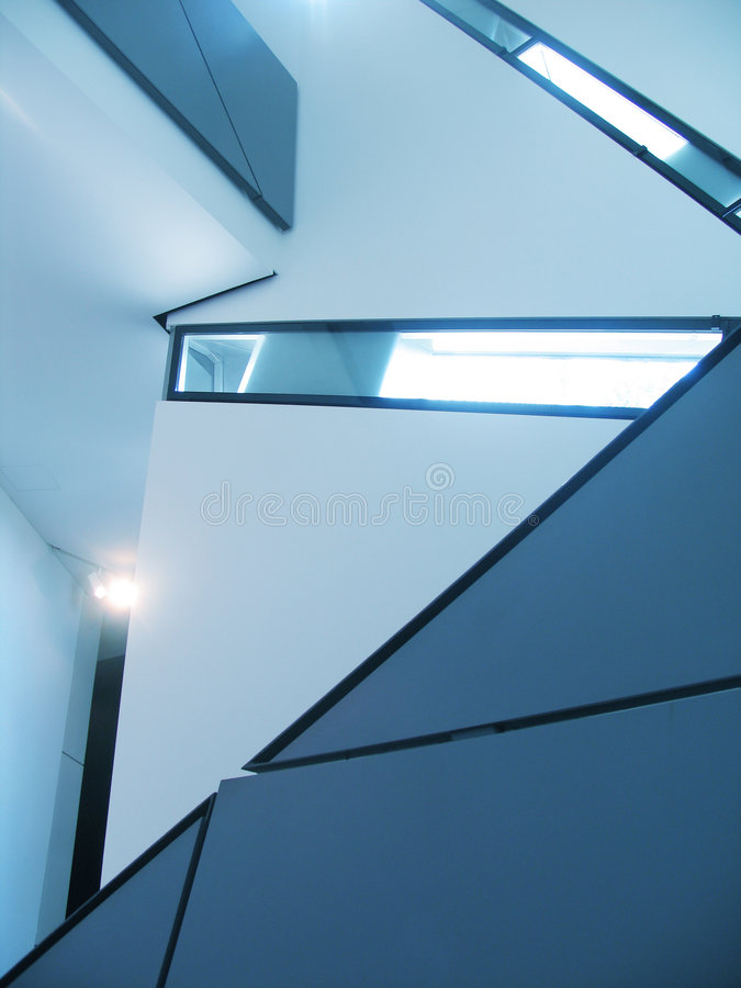 Indoor architectural lines. Indoor architectural royalty free stock images