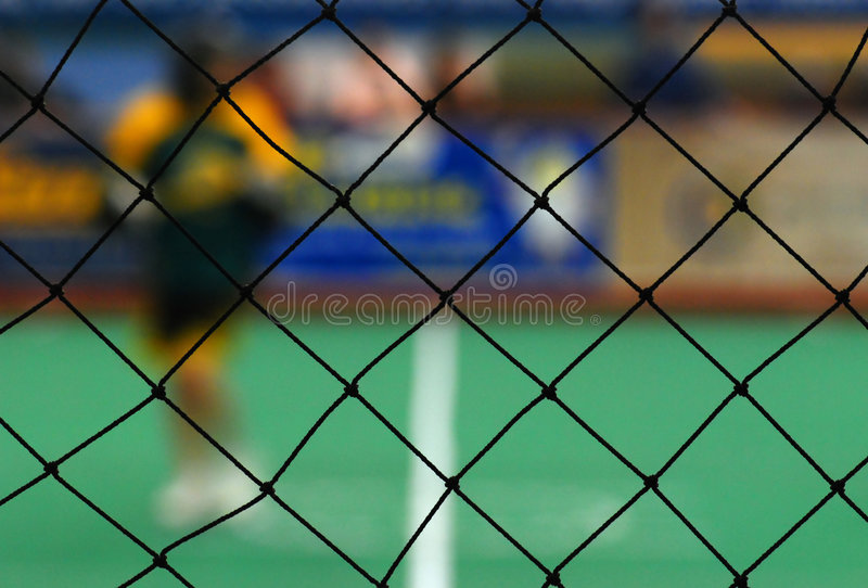Download Indoor Arena With Focus On Mesh Stock Photo - Image: 5275538