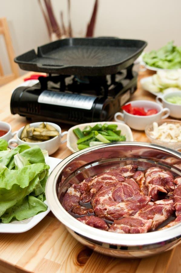 Download Indoor Barbecue Stock Photo - Image: 19427370