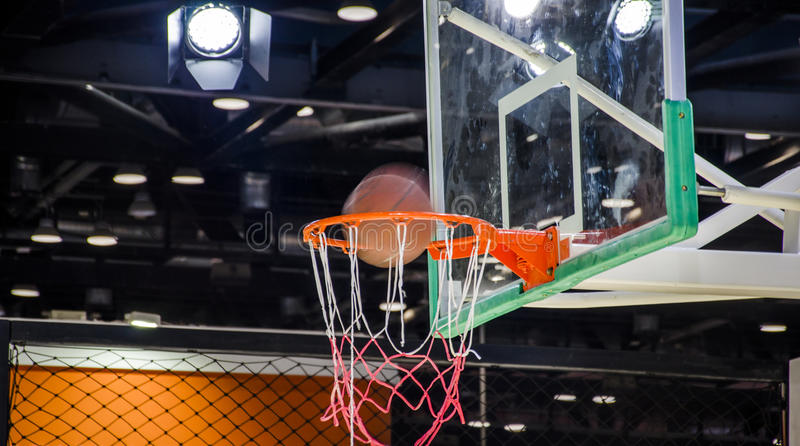 indoor basketball court stock photo image of lighting 91369560