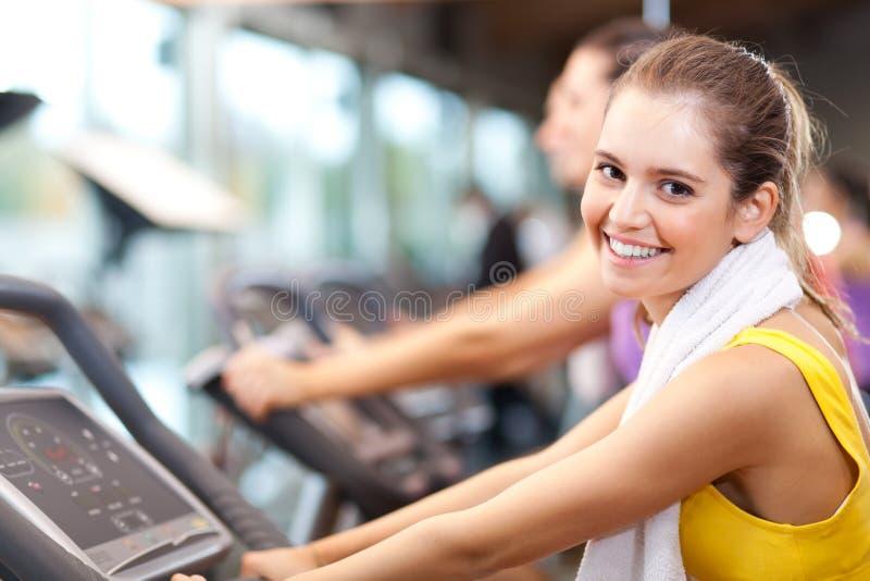 Download Indoor biking stock photo. Image of women, smiling, sport - 27694592